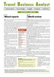 1TBA Asia Pacific April 2005.indd - Travel Business Analyst