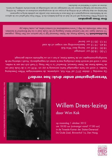 Willem Drees-lezing