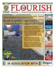 Flourish August 2013 - Archdiocese of Glasgow