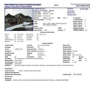 MLS Data Sheet - Perry Quinn