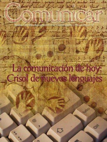 La comunicación de hoy - Revista Comunicar