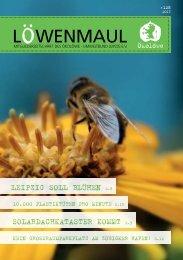 Löwenmaul Nr. 128 (März 2013) (5959 kB) - Ökolöwe
