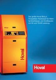 Hoval BioLyt 50-70 kW - Erich Otto Reutter Heizungsbau GmbH