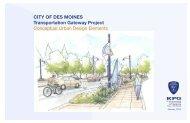 Conceptual Urban Design Elements - City of Des Moines Outlook ...