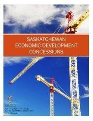 saskatchewan economic development concessions - SEDA ...