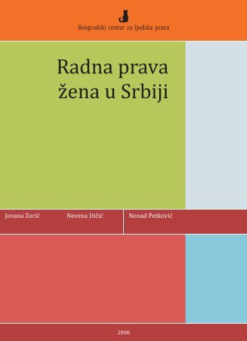 Radna prava zena u Srbiji.cdr - United Nations in Serbia