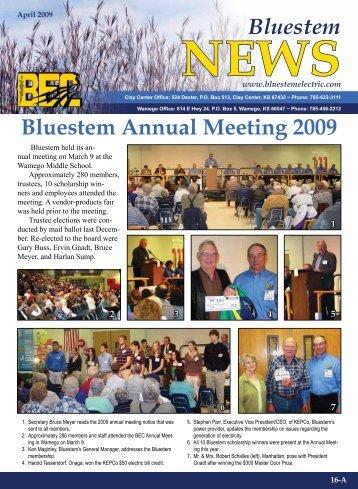 April 2009 - Bluestem Electric