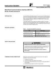 Instruction Bulletin - Square D