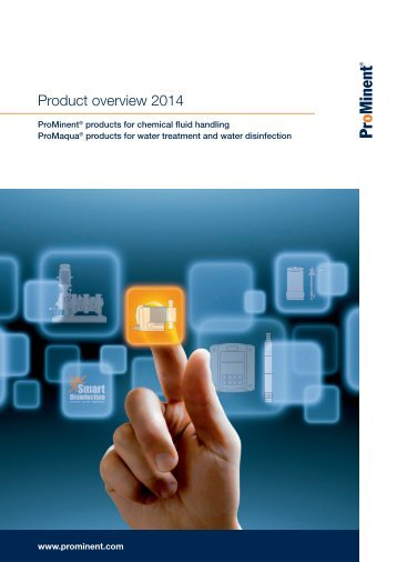 Brochure - ProMinent® Product Overview 2013