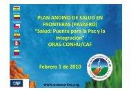 Descargar presentación - Organismo Andino de Salud