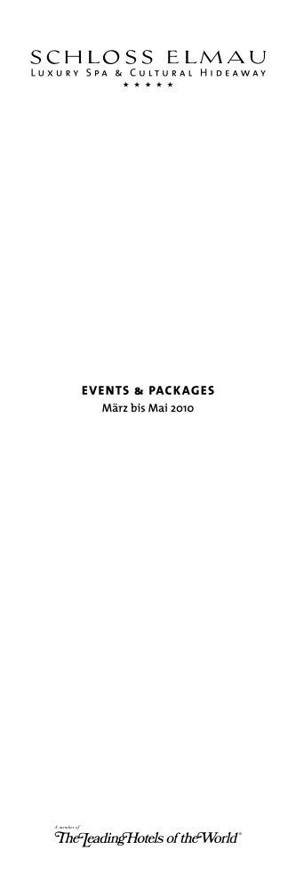 events & Packages