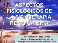 aspectos fisiologicos terapia respiratoria - CPR
