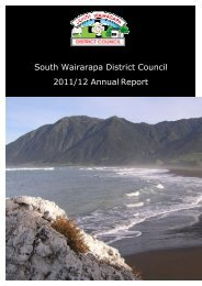 South Wairarapa District Council 2011/12 Annual Report
