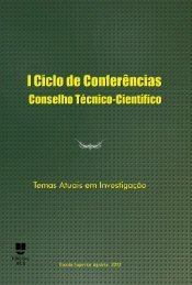 I Ciclo de Conferências. Conselho Técnico-Científico - Repositório ...