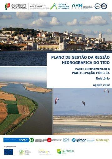 plano de gestão da região hidrográfica do tejo - Agência ...