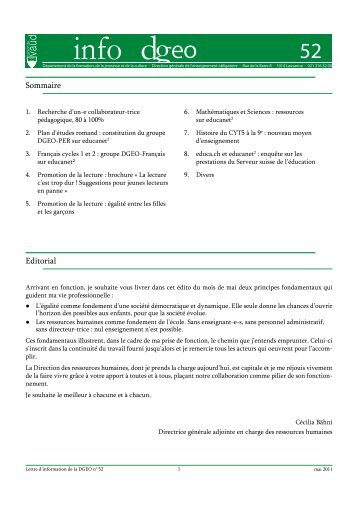 n° 52 - Telechargement.vd.ch - Canton de Vaud