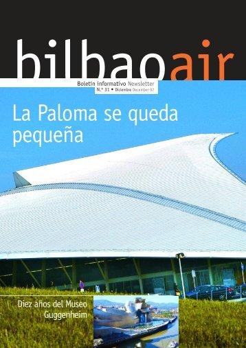 La Paloma se queda pequeña - Bilbao Air
