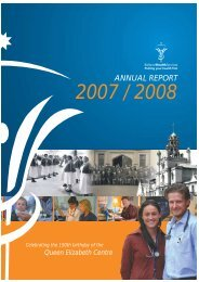 Annual Report 2007 2008.pdf - Ballarat Health Services