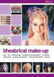 theatrical make-up - Mentone Educational Centre