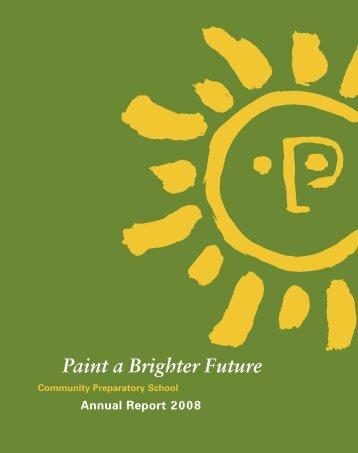 CP Annual'08forpdf.indd - Community Preparatory School