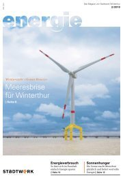 energie 2/2010 - Stadtwerk Winterthur