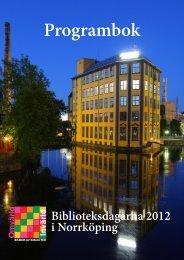Programbok - Svensk Biblioteksförening