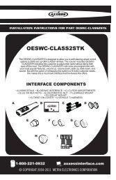 OESWC-CLASS2STK - Autotoys