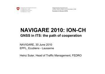 cced00df94e NAVIGARE 2010  ION-CH - Swiss Institute Of Navigation    ION-CH