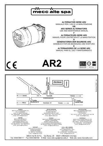 I alternatori serie ar1 gb ar1 series mecc alte spa i alternatori serie ar2 gb ar2 series winco generators asfbconference2016 Image collections
