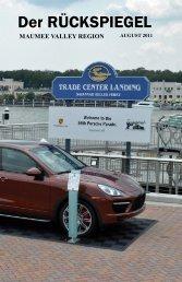 Volume 38 Issue 8, August 2011 - Maumee Valley - Porsche Club of ...