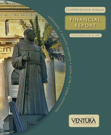 FINANCIAL REPORT - City Of Ventura