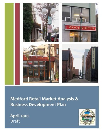 Medford Retail Market Analysis & Business ... - Team Site