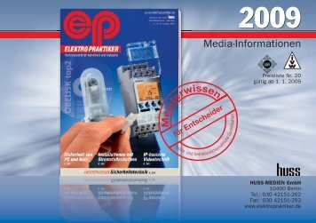 Media-ep 2009 - Huss Verlag