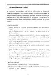 Identifizierung und funktionelle Charakterisierung von ...