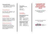 Logopädie bei Amyotropher Lateralsklerose (ALS)