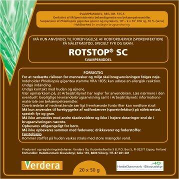 ROTSTOP® SC - Middeldatabasen