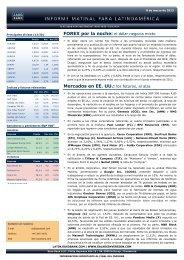 Mercados en EE. UU.: los futuros, al alza - Sala de Inversión