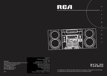 RS2620 - Radio Shack
