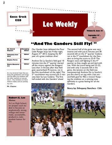 Lee Weekly