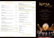 Download Kenza's Delivery and Take Away Menu