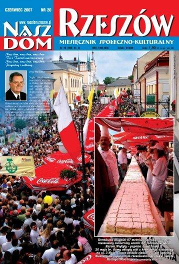 Czerwiec (6MB) - Stowarzyszenie Nasz Dom-Rzeszów