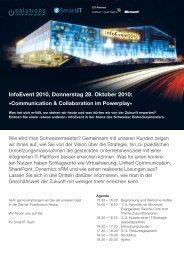 InfoEvent 2010 Flyer (PDF 483 kB)