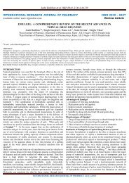 emulgel: a comprehensive review on the recent advances in topical ...