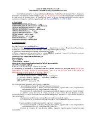 Edital 2013 - Transferência Externa - Faculdade de Ciências e ...