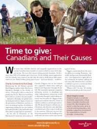 Time to give: - Imagine Canada