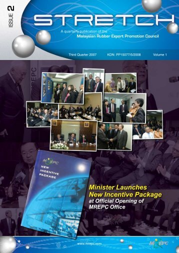 Minister Launches New Incentive Package at Official ... - Mrepc.com