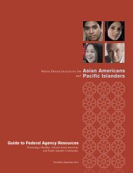 Guide to Federal Agency Resources - The White House