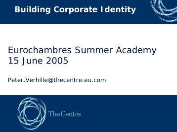 branding - Eurochambres Academy