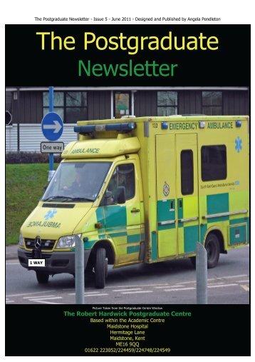 The Postgraduate Newsletter - Maidstone and Tunbridge Wells NHS ...