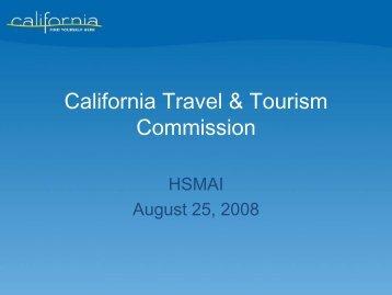 California Travel & Tourism Commission - California Tourism